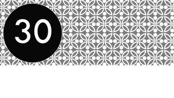 Grey Tile Pattern Timer