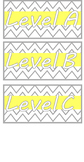 Grey and Yellow Chevron Classroom Library Labels