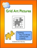 Grid Art Pictures: Practicing Map Coordinate Skills