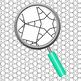 Grid Based Adult Level Color In Backgrounds / Digital papers Clip Art Set