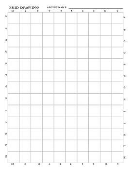 Grid Drawing Challenge (Dragon)