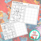 Grid Drawing Worksheets - 14 Unique, FALL-THEMED designs