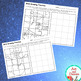 Grid Drawing Worksheets - 14 Unique, WINTER-THEMED Designs