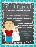 Grid Force - An Interactive Coordinate Grid Graphing Game