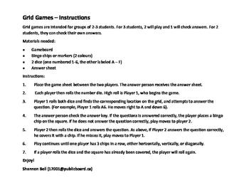 Grid Game - Elapsed Time