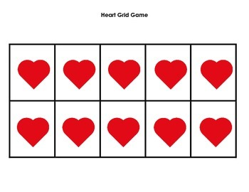 Grid Game: Hearts