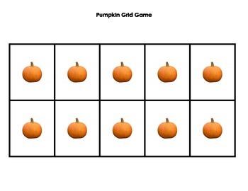 Grid Game: Pumpkins
