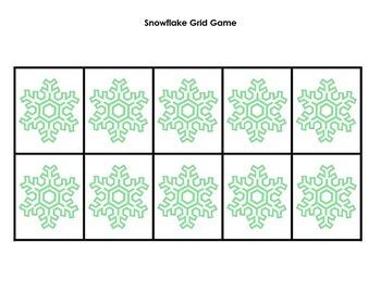 Grid Game: Snowflakes