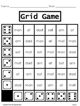 Grid Game Spelling Center - Grade 1- Aligned with Journeys 2017: Units 1-6