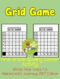 Grid Game Spelling Center - Grade 1- Aligned with Journeys