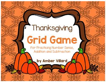 Grid Game {Thanksgiving}