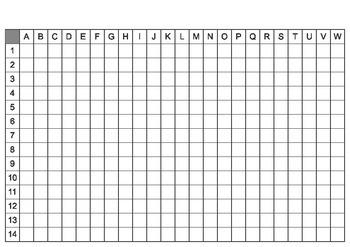 Grid Map - Blank