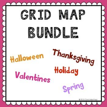 Grid Map Seasonal Bundle