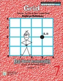 Coordinate Grid Worksheets - Math Centers {30 Weeks Daily Practice}