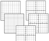 Grid Paper Bundle Pack: Download Open Notebook to build yo