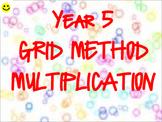 Grid Method Multiplication TEACHER REVIEW PACK