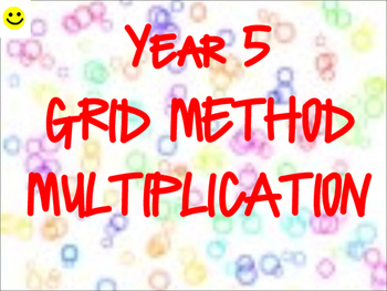 Grid Method Multiplication TEACHER REVIEW PACK