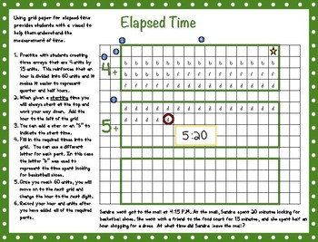 Graph Paper Strategies: Elapsed Time