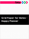Grid Paper for Notes