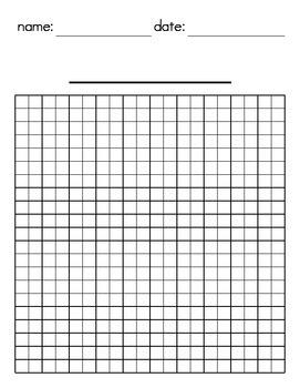 Grid Papers - Portrait - Landscape