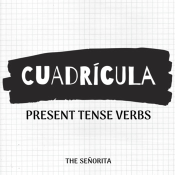 Grid Puzzle: Spanish Present Tense Verbs