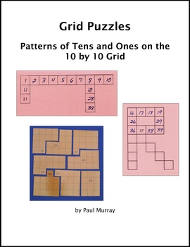 Grid Puzzles:  Place Value Patterns with 10s and 1s