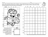 Grid Technique Practice Worksheet in Spanish