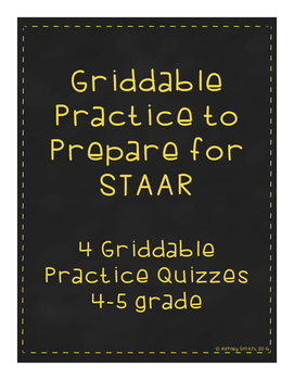 Grid Tests to Prepare for STAAR