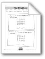Grid Word Problems (addition/number sentences)