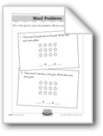 Grid Word Problems (addition/number sentences)
