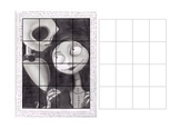 Grid drawing practice extra credit jack sally nightmare before christmas