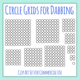Grid for Dabber / Dabbing Activities Clip Art Set for Commercial Use