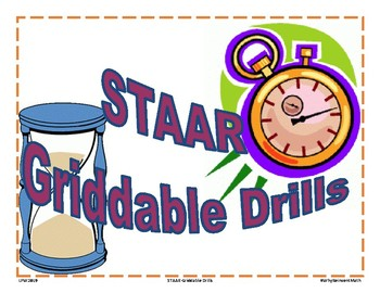 Griddable Drills: STAAR Math 6th-8th