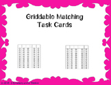 Griddable Matching Task Cards TEKS 5.3E, 5.3G, 5.3K