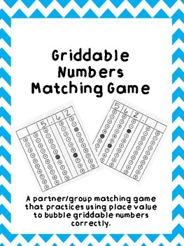 Griddable Number Matching Game
