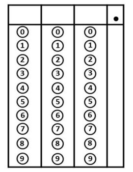 Griddable Practice for STAAR - Grade 3