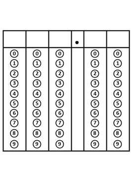 Griddable Practice for STAAR - Grades 4-5