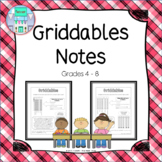 Griddables Notes