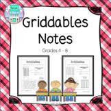 Griddables Notes