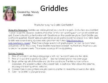Griddles: Letter M