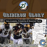 "Gridiron Glory -- ""Big Game"" Data & Paper Football - 21st Century Math Project"