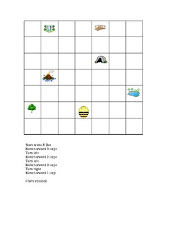 Grids and activities for B-Bot