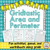 Gridtastic Area and Perimeter: Fun Activities, Worksheets, & Games