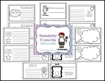Grief/Loss Booklet- Savvy School Counselor