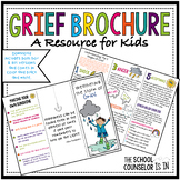 Grief Brochure for Kids
