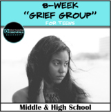 """School Counseling """"Grief Group"""" for Teens in Middle and Hi"""