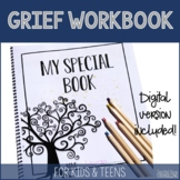 Grief workbook for children and teens coping with loss, di