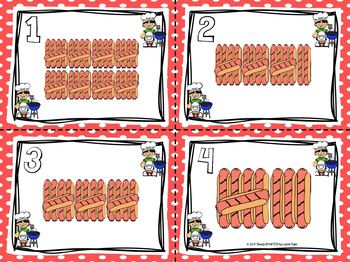 Grill Up the Hot Dog Tallies!:  LOW PREP Summer Themed Write the Room