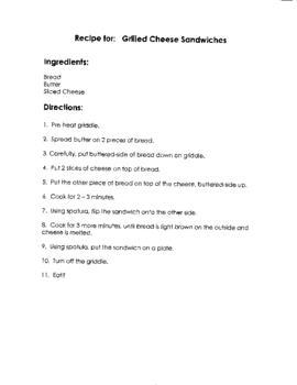 Grilled Cheese Sandwich Step by Step Recipe