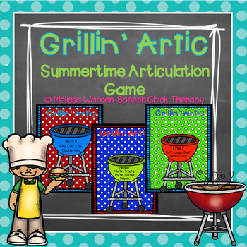 Grillin' Artic: Summer Articulation Game
